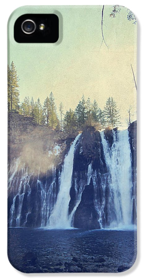 Burney Falls State Park IPhone 5 Case featuring the photograph Splendor by Laurie Search