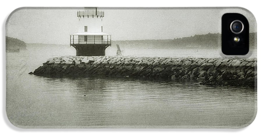 Bay IPhone 5 Case featuring the photograph Spring Point Ledge Light by Joan Carroll
