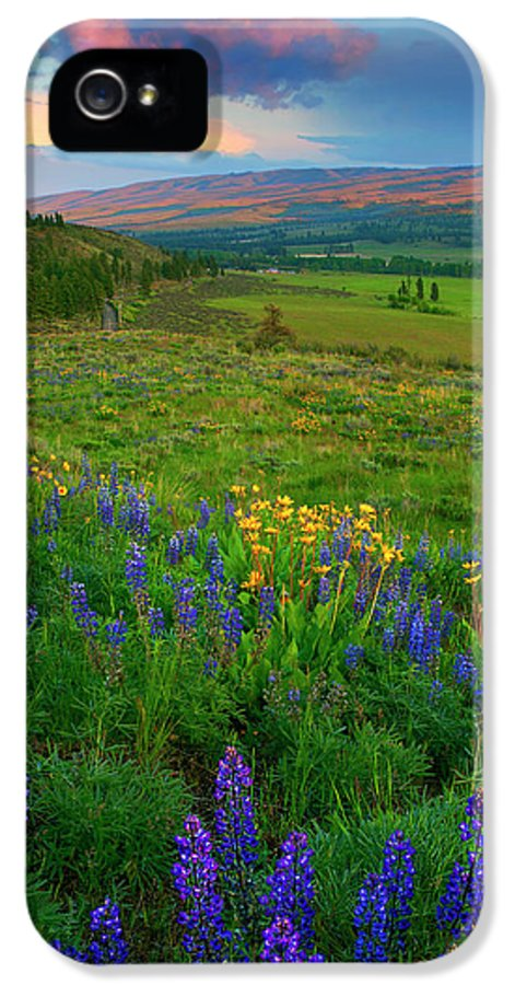 Spring Storm IPhone 5 Case featuring the photograph Spring Storm Passing by Mike Dawson