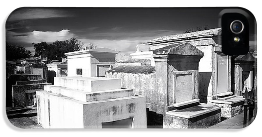 Cemetery IPhone 5 Case featuring the photograph St. Louis Cemetery #1 by John Rizzuto