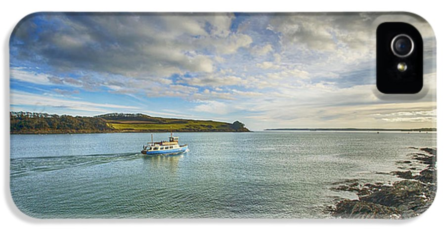 Cornwall Canvas Cornwall Prints IPhone 5 Case featuring the photograph St Mawes Ferry Duchess Of Cornwall by Chris Thaxter