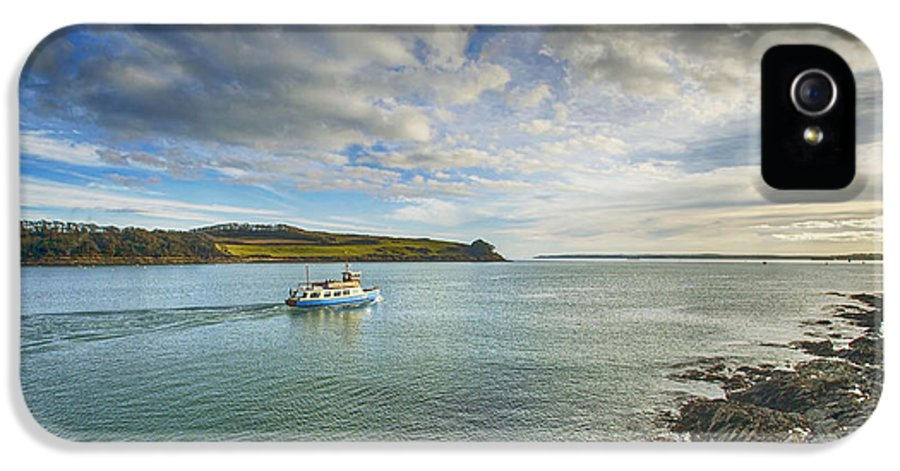 Cornwall Canvas Cornwall Prints IPhone 5 / 5s Case featuring the photograph St Mawes Ferry Duchess Of Cornwall by Chris Thaxter