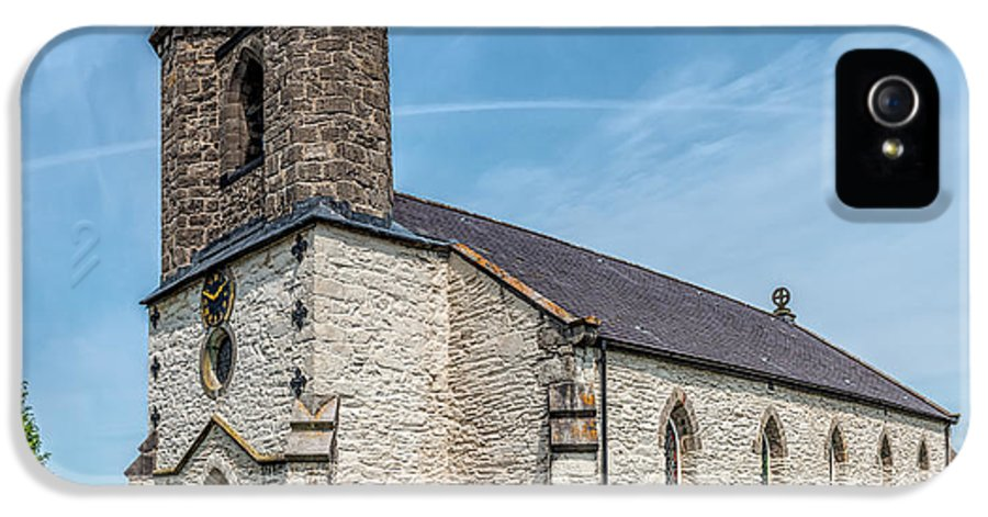 Betws Yn Rhos IPhone 5 Case featuring the photograph St Michael Church by Adrian Evans