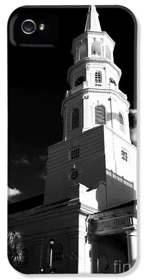 St. Michael's IPhone 5 Case featuring the photograph St. Michael's by John Rizzuto