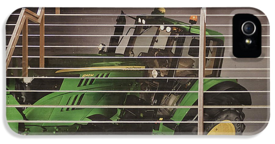 Stairway IPhone 5 Case featuring the photograph Stairway To John Deere Heaven by Janice Rae Pariza
