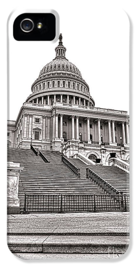 Washington IPhone 5 Case featuring the photograph Stairway To Power  by Olivier Le Queinec