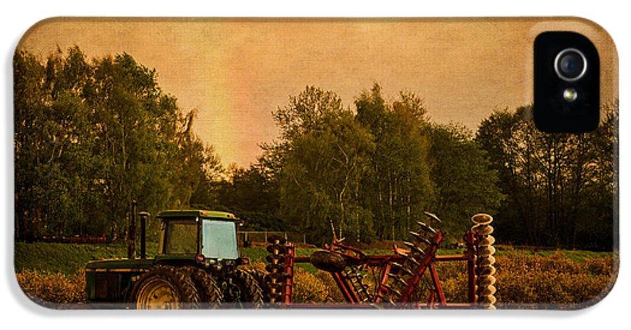 Jordan Blackstone IPhone 5 Case featuring the photograph Starting Over - Vintage Country Art by Jordan Blackstone