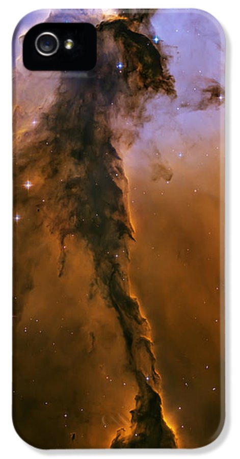 3scape Photos IPhone 5 Case featuring the photograph Stellar Spire In The Eagle Nebula by Adam Romanowicz