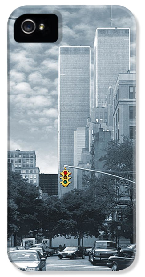 9-11 IPhone 5 Case featuring the photograph Stop by Mike McGlothlen