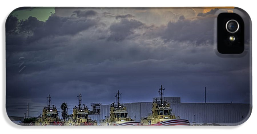 Storm Clouds IPhone 5 Case featuring the photograph Storm Brewing by Marvin Spates