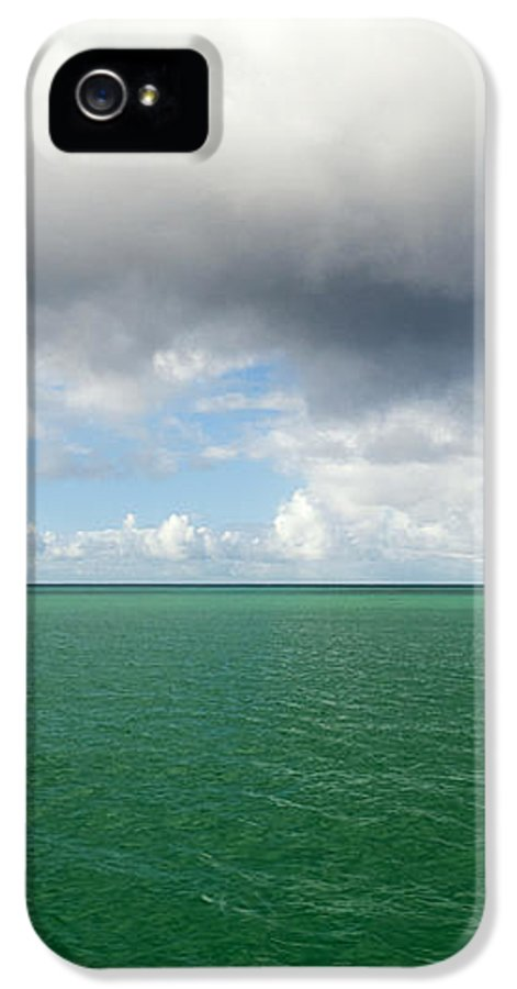 Storm IPhone 5 Case featuring the photograph Storm Clouds Gathering by Fabrizio Troiani