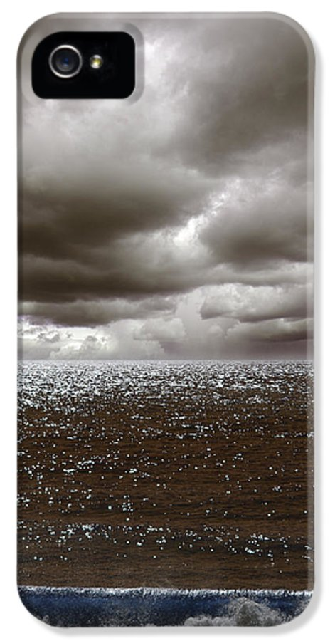 Storm IPhone 5 Case featuring the photograph Storm Front by Mark Rogan