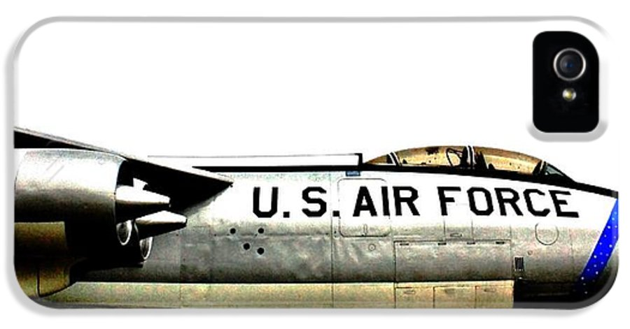 B-47 IPhone 5 Case featuring the photograph Stratojet by Benjamin Yeager