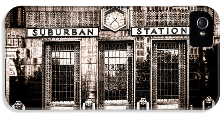 Philadelphia IPhone 5 Case featuring the photograph Suburban Station by Olivier Le Queinec