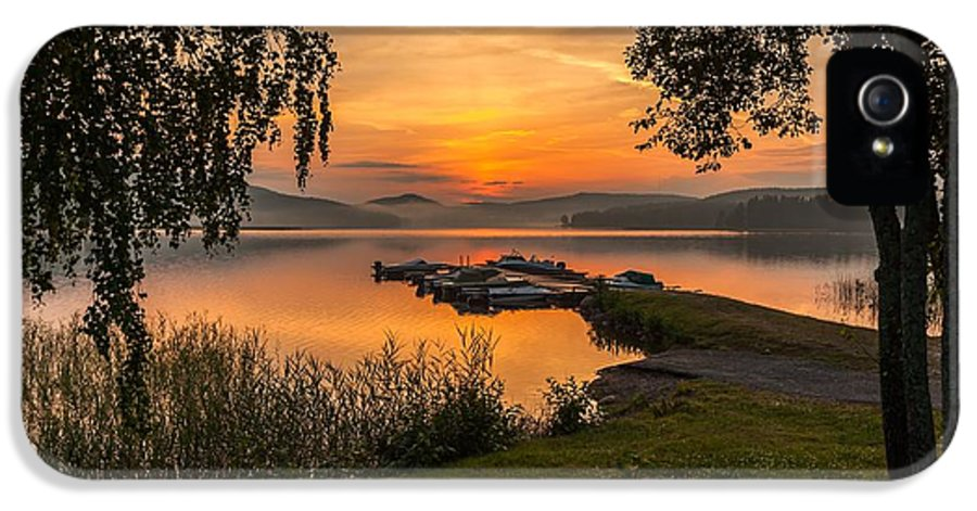 Landscape In Norway IPhone 5 Case featuring the photograph Summer Breeze by Rose-Maries Pictures
