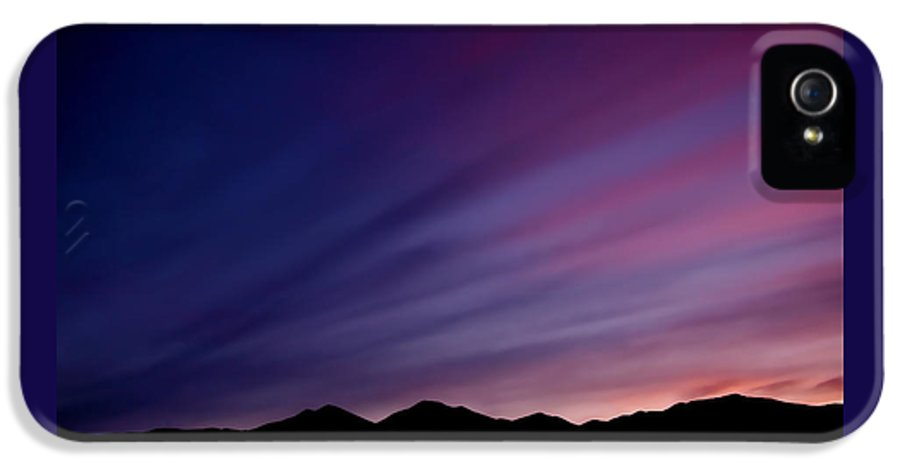 Salt Lake City IPhone 5 Case featuring the photograph Sunrise Over The Mountains by Rona Black