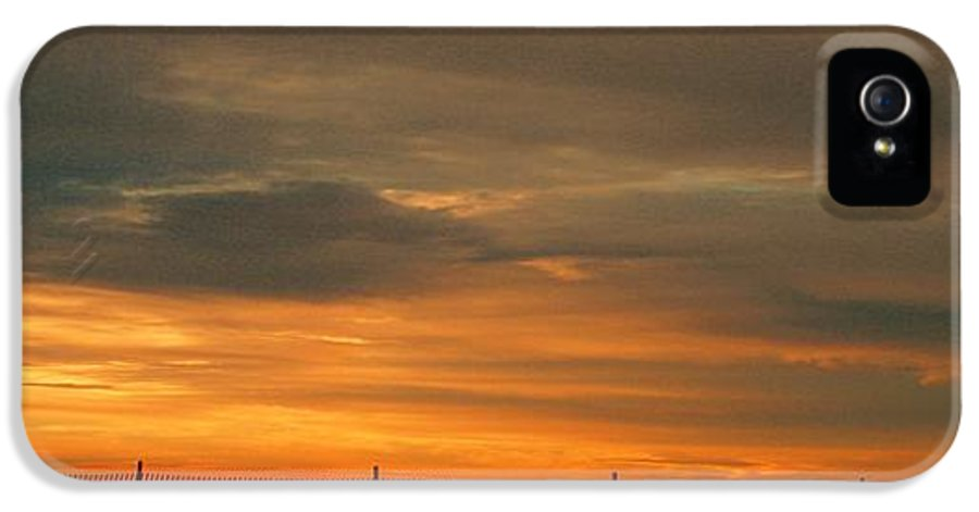 Sunset IPhone 5 Case featuring the photograph Sunset 1013 by David Dehner