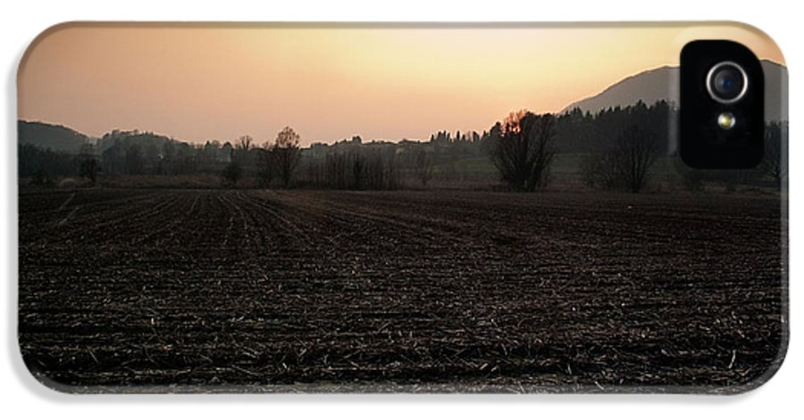 Sun IPhone 5 Case featuring the photograph Sunset On The Adda by Matteo Musso