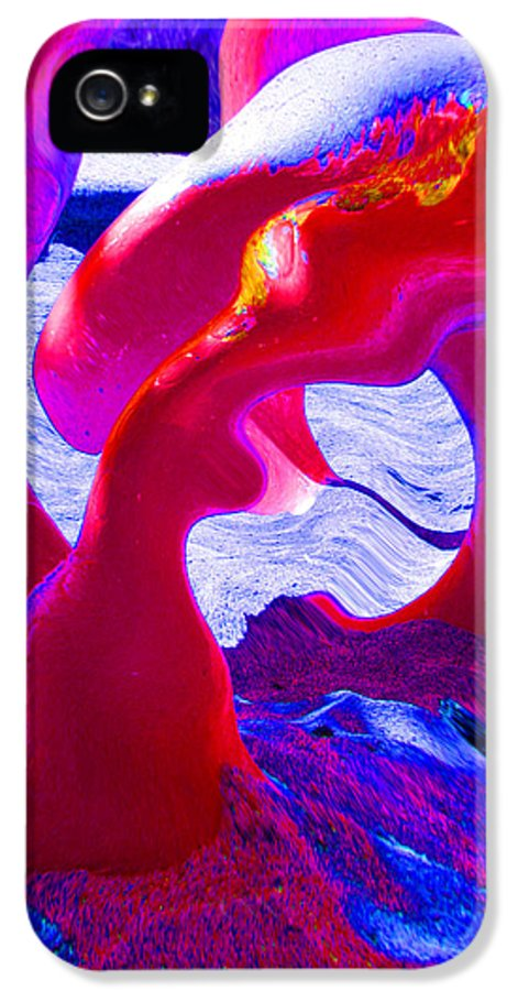 Serpent IPhone 5 / 5s Case featuring the photograph Surreal Sea Serpent by Art Block Collections