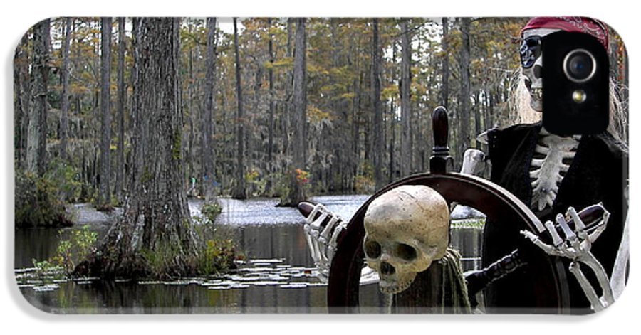 Pirates IPhone 5 Case featuring the photograph Swamp Pirate by Karen Wiles