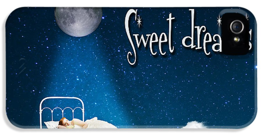 Bed IPhone 5 Case featuring the photograph Sweet Dreams by Juli Scalzi