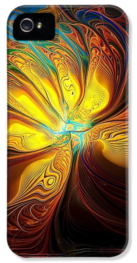 Digital Art IPhone 5 Case featuring the digital art Swept Away by Amanda Moore