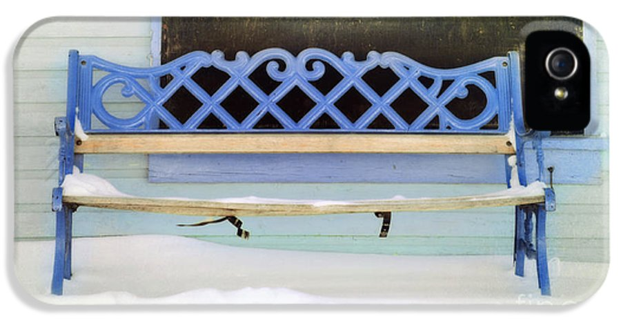 Bemch IPhone 5 Case featuring the photograph Take A Seat by Priska Wettstein