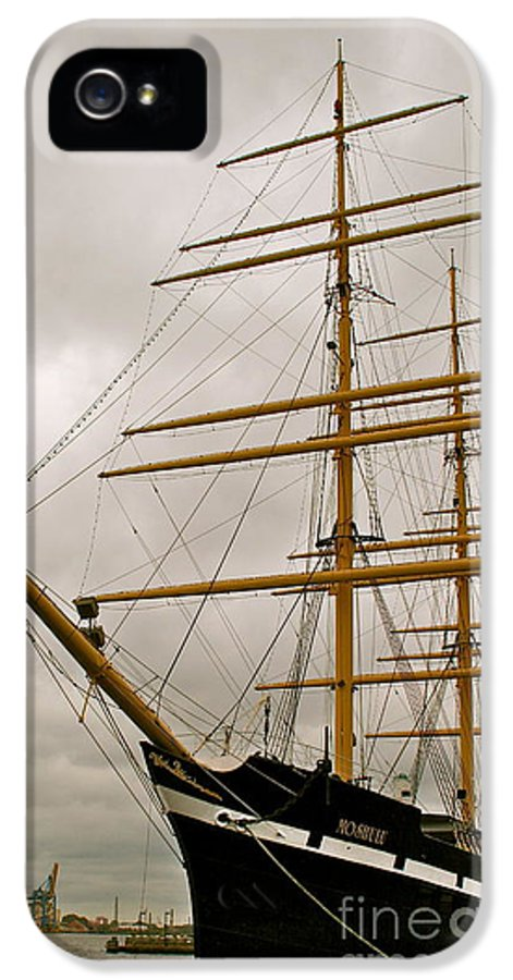 Ship IPhone 5 Case featuring the photograph Tall by Rick Monyahan