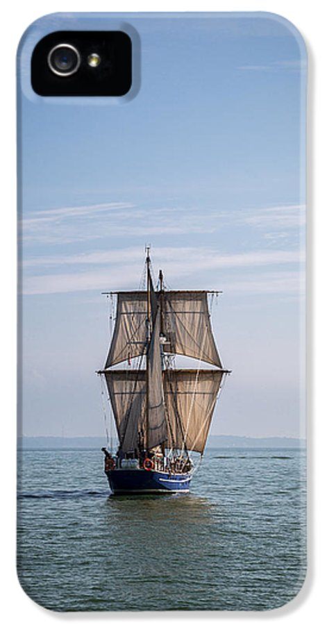 Playfair IPhone 5 Case featuring the photograph Tall Ship Sailing by Dale Kincaid