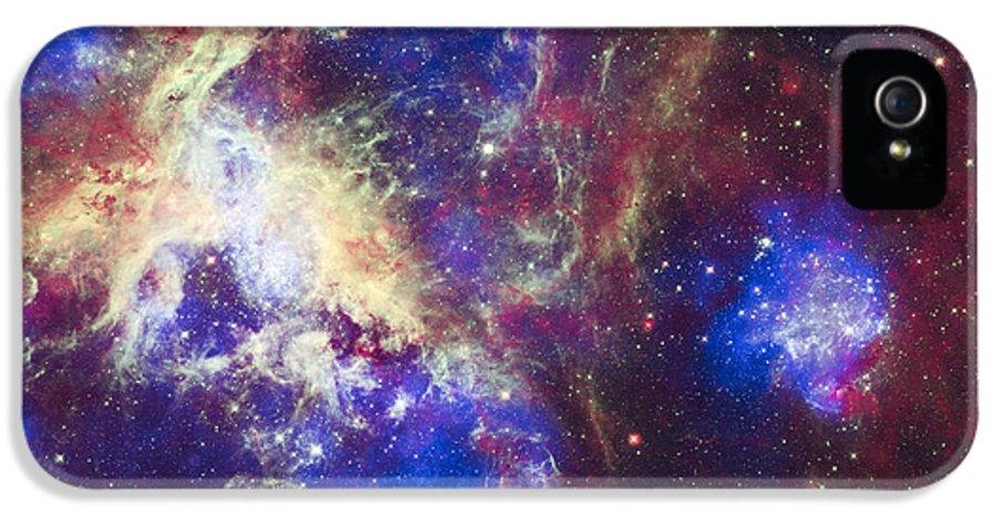 3scape Photos IPhone 5 Case featuring the photograph Tarantula Nebula by Adam Romanowicz