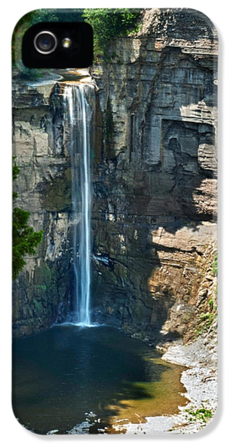 New York IPhone 5 Case featuring the photograph Taughannock Falls by Christina Rollo