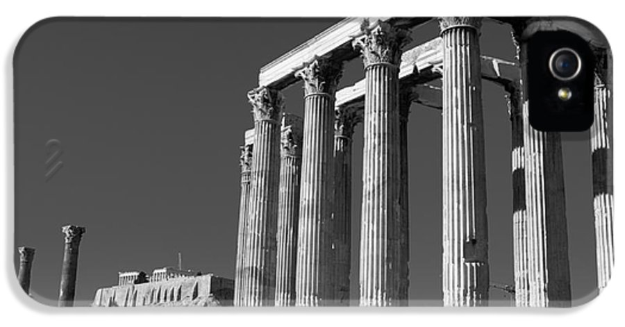 Temple IPhone 5 / 5s Case featuring the photograph Temple Of Zeus by Gabriela Insuratelu