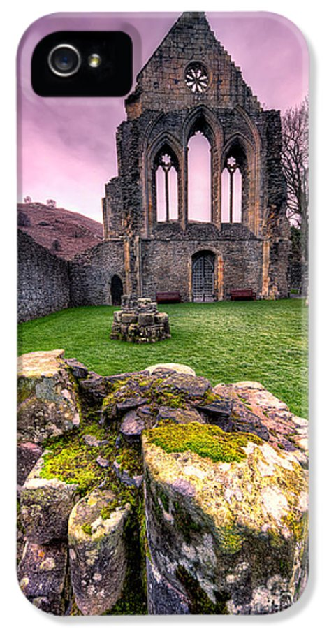 Valle Crucis IPhone 5 Case featuring the photograph The Abbey by Adrian Evans