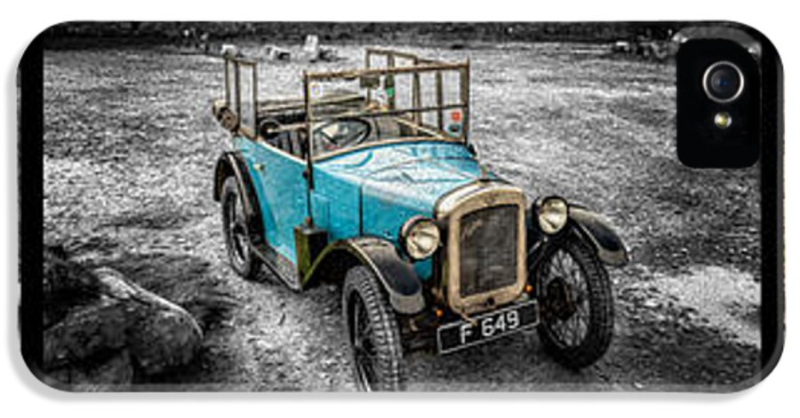 Austin Motor Company IPhone 5 Case featuring the photograph The Austin 7 by Adrian Evans