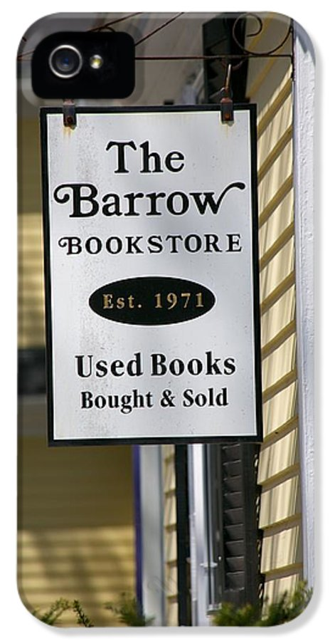 The Barrow IPhone 5 Case featuring the photograph The Barrow by Allan Morrison