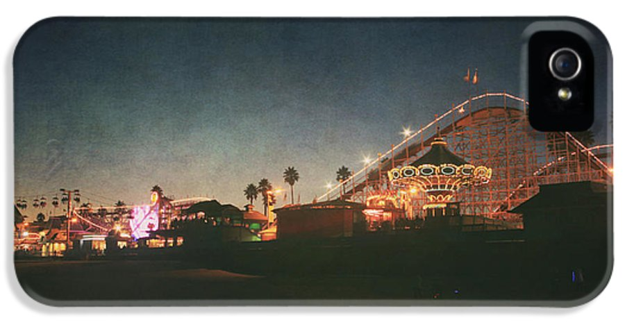 Santa Cruz Beach Boardwalk IPhone 5 Case featuring the photograph The Boardwalk by Laurie Search
