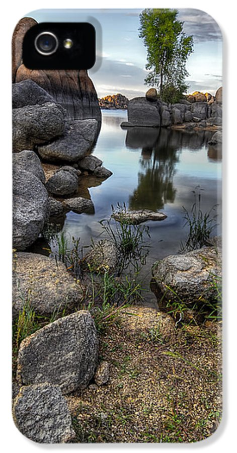 Landscape IPhone 5 Case featuring the photograph The Bobber by Sean Foster