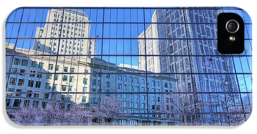Boston Skyline IPhone 5 / 5s Case featuring the photograph The Boston Skyline by JC Findley