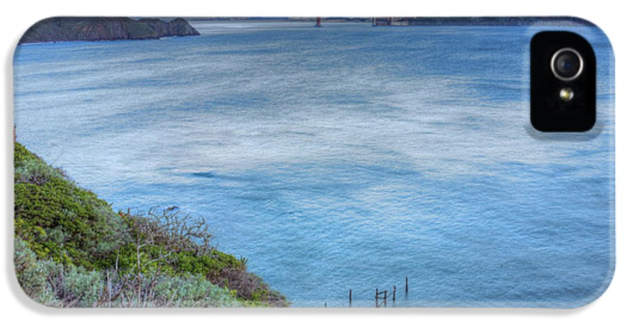Bonita Point IPhone 5 / 5s Case featuring the photograph The Bridge by JC Findley