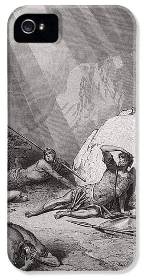 Saint IPhone 5 Case featuring the painting The Conversion Of St. Paul by Gustave Dore