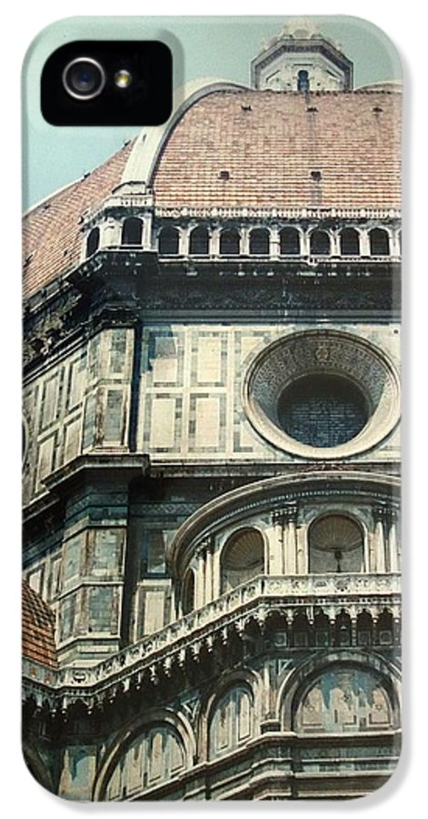 Duomo IPhone 5 Case featuring the painting The Duomo Firenze by Melinda Saminski