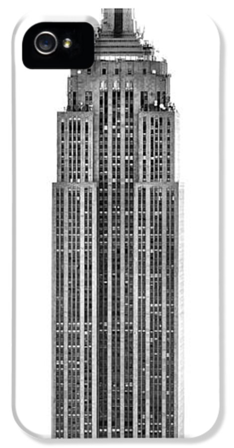 America IPhone 5 Case featuring the photograph The Empire State Building by Luciano Mortula