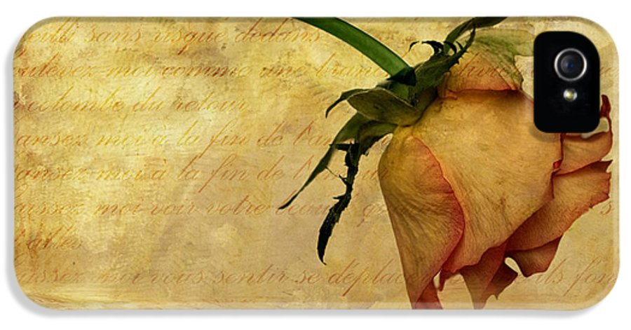 Flora IPhone 5 Case featuring the photograph The End Of Love by John Edwards