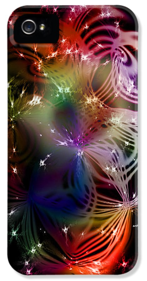 Abstract IPhone 5 Case featuring the digital art The Final Frontier by Anthony Caruso