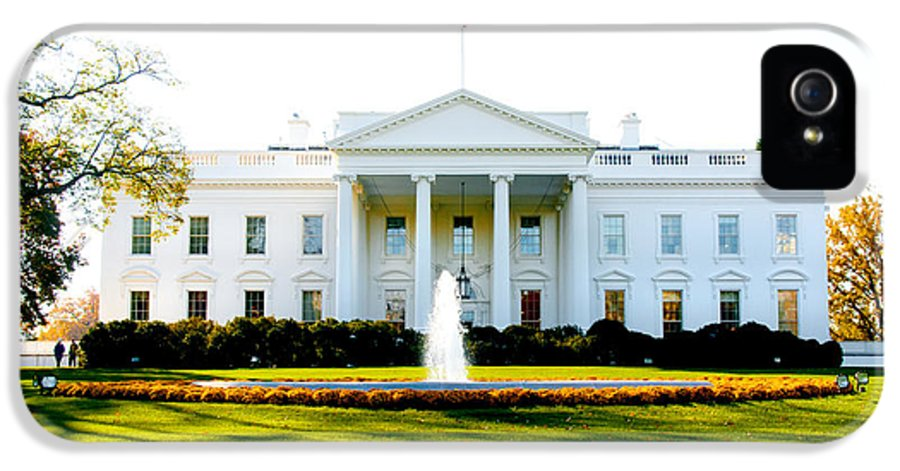 Washington Dc IPhone 5 Case featuring the photograph The Front Door by Greg Fortier
