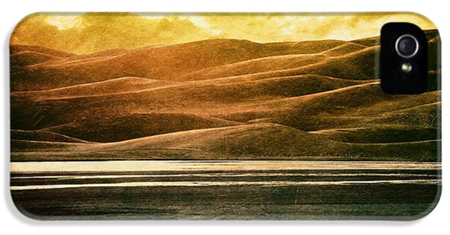 Brett IPhone 5 Case featuring the digital art The Great Sand Dunes by Brett Pfister