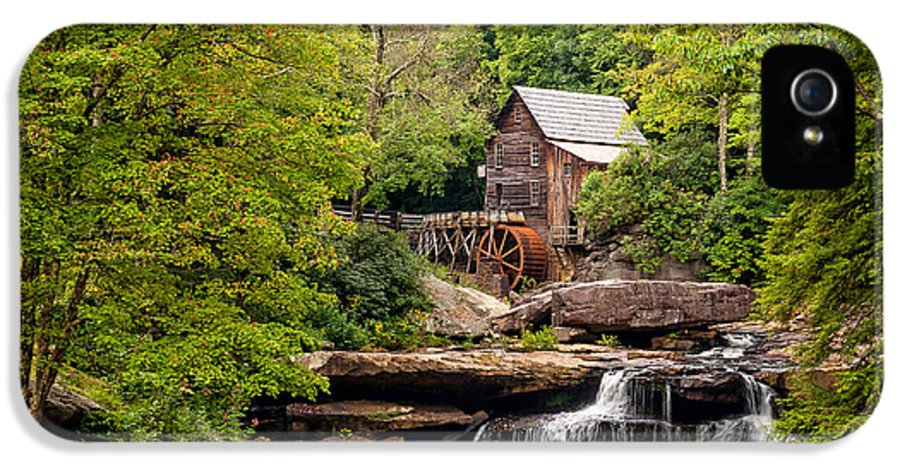 West Virginia IPhone 5 Case featuring the photograph The Grist Mill by Steve Harrington