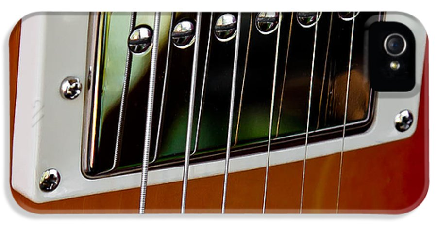 The Kingpins IPhone 5 Case featuring the photograph The Guitar by David Patterson