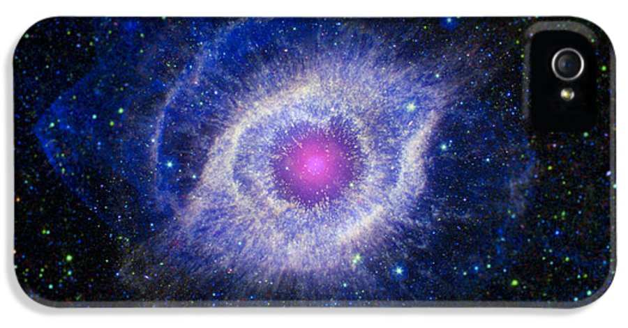 3scape Photos IPhone 5 Case featuring the photograph The Helix Nebula by Adam Romanowicz