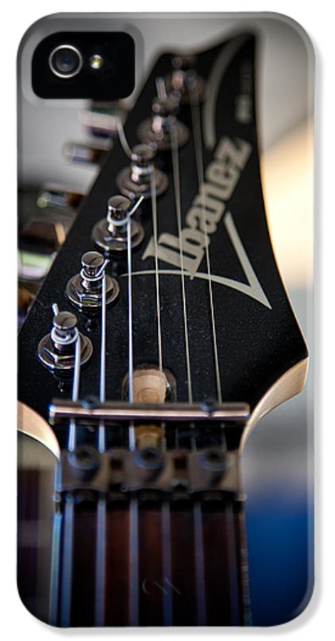 The Ibanez Guitar IPhone 5 Case featuring the photograph The Ibanez Guitar by David Patterson